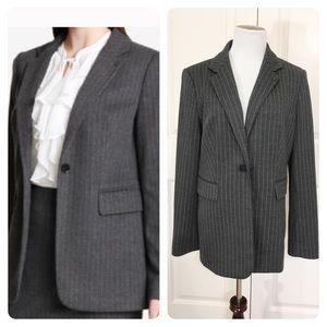 New Tommy Hilfiger Pinstripe Blazer Jacket